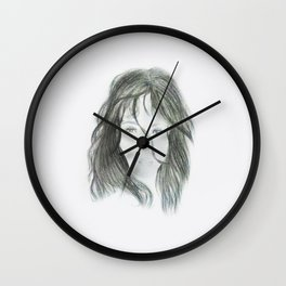 Shocked Face Wall Clock