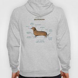 Anatomy of a Dachshund Hoody
