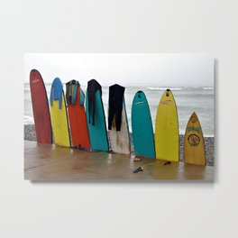 Wave Series Photograph No. 21. - Day's End Metal Print