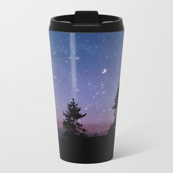 Twilight Forest Metal Travel Mug