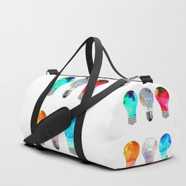 Light Bulbs Duffle Bag