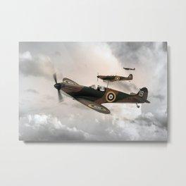 Supermarine Spitfire Mk I Metal Print