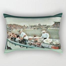 Rodeo Hitchin' Rectangular Pillow