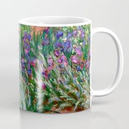 """Claude Monet """"The Iris Garden at Giverny"""", 1899-1900 Coffee Mug"""