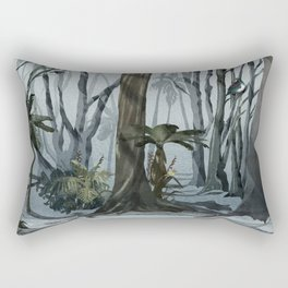 NZ Woodland Rectangular Pillow