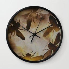 Bee dance Wall Clock