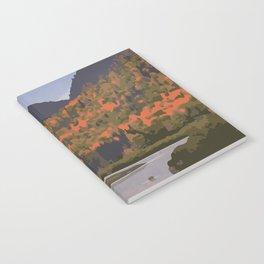 La Mauricie National Park Poster, Quebec Notebook