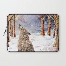 Wolf Serenade Laptop Sleeve