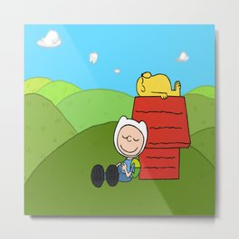 finn brown and jaky Metal Print