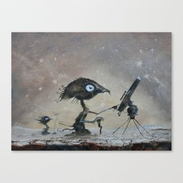 Sky watchers Canvas Print