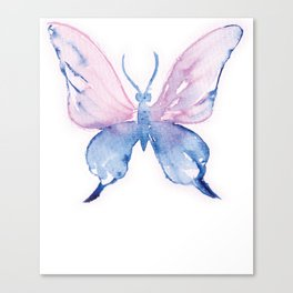 Watercolor Butterfly Canvas Print