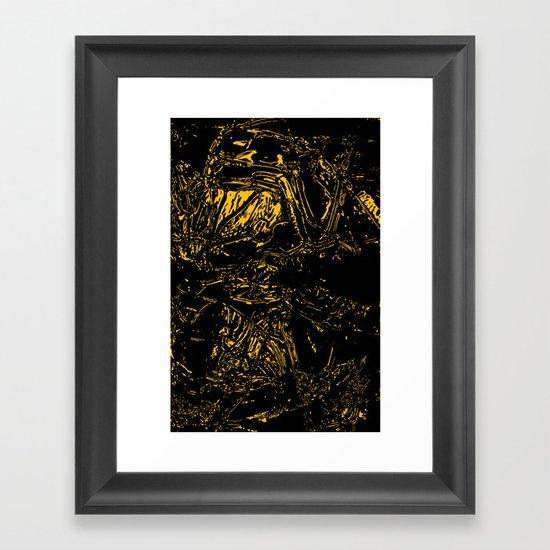 In the Void Framed Art Print