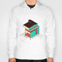 architecture Hoodies featuring Music & Architecture by Roland Lefox