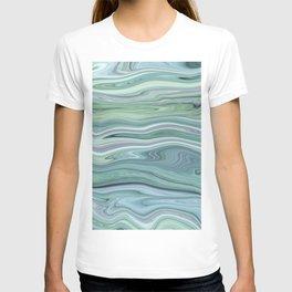 Marble light green T-shirt