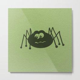 Cute Creepy Crawler Metal Print