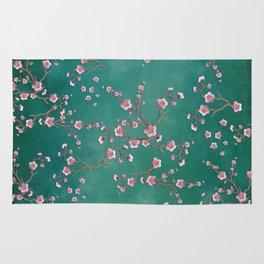 SAKURA LOVE - GREEN Rug