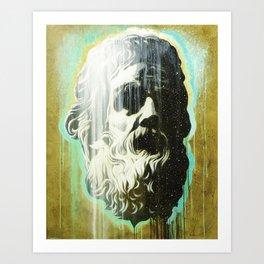 HOLYGHOSTFACE Art Print