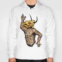 taurus Hoodies featuring Taurus by sociopteryx