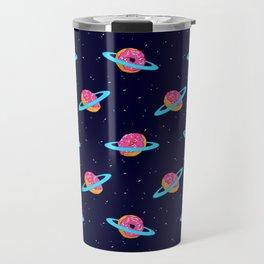 Sugar rings of Saturn Travel Mug
