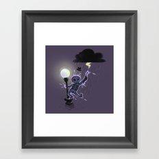 Singin'in the rain Framed Art Print