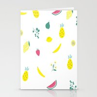 fruits Stationery Cards featuring Fruits by haroulita