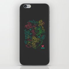 Squid Wars iPhone & iPod Skin