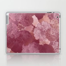 BERRY FLORAL HUES Laptop & iPad Skin