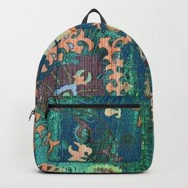 PATCHWORK PATTERN CASA VERDE ART Backpack