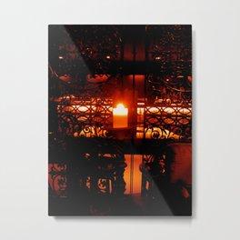 Candleglow Metal Print
