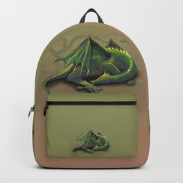 Sleeping dragon Backpack