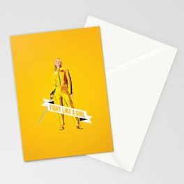 Fight Like a Girl: Beatrix Kiddo Stationery Cards