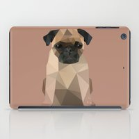 pug iPad Cases featuring Pug by Diana D'Achille
