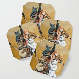 Cat Quartet Coaster