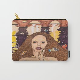 Mermaid City Carry-All Pouch