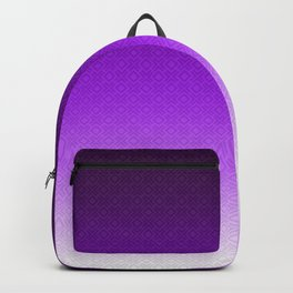 Viola , plum , Ombre Backpack