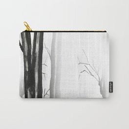 wood, snow and fog Carry-All Pouch