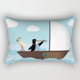At The Sea #society6 #decor #buyart Rectangular Pillow