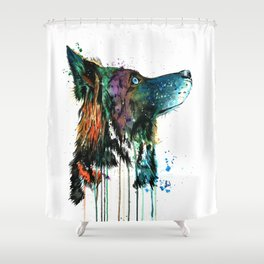 Husky - Anticipation Shower Curtain
