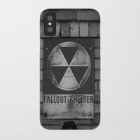 fallout iPhone & iPod Cases featuring Fallout by Lia Bedell