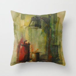 ded nature Throw Pillow