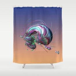 CRÉATURE ÉTRANGE 14 Shower Curtain