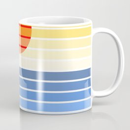 abstract sea Coffee Mug