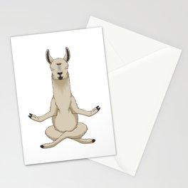 Meditation Llama with Third Eye Stationery Cards