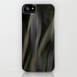 blurred perception of nature #1 iPhone Case
