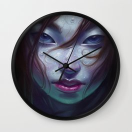 Sea Witch Wall Clock