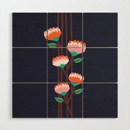 Benoít Flowers Wood Wall Art