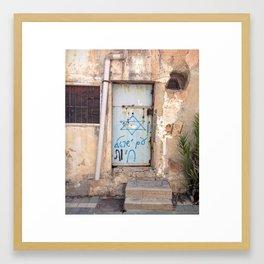 Tel Aviv Street Art Framed Art Print