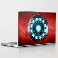 iron man Laptop & iPad Skins featuring Iron Man Iron Man by ThreeBoys