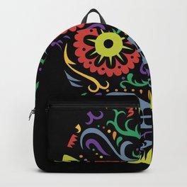 Sugar Skull SF multi -  black Backpack
