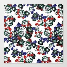 Cool Floral texture Canvas Print